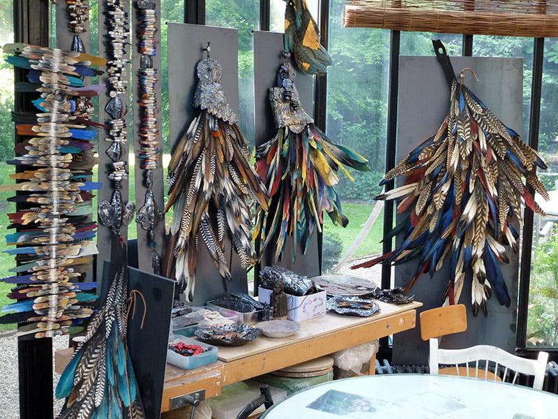 Atelier du sculpteur suisse